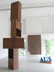 Das-blaue-Aus-2007-All-used-items-collected-in-the-Kunsthaus-Hohenlockstedt-size-variable-Kunsthaus-Hohenlockstedt-Groupshow-a-Schaene-Groesse-aus-Hohenlockstedt€œ