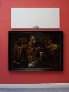 Closed, 2011, room door, 200 x 80 x 15 cm, Extradosis, Kunsthalle zu Kiel, 2011