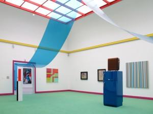 Cooler Heizer, 2011, installation view, used fridge, 230 x 68 x 63 cm, Extradosis, Kunsthalle zu Kiel, 2011