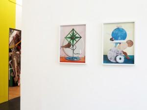 Exhibition-view-with-Flowa-Zack-2012-C-Print-53-x-40-cm-Leggio-Bleu-2012-C-Print-53-x-40-cm-Mexican-Style-Galerie-Mathias-Guentner-2013