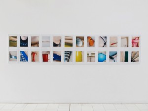 Objektbeziehung (selection from the 84 part series Objektbeziehung), 2005, Inkjet prints, 40 x 30 cm each, Extradosis, Kunsthalle zu Kiel, 2011+