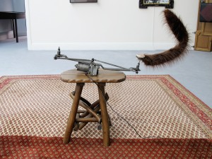 Wedler II, 2011, found objects (flea-market), Extradosis, Kunsthalle zu Kiel, 2011