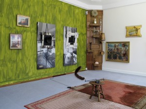 Wedler's Home2, 2011, wall paint, Installation, size variable, Extradosis, Kunsthalle zu Kiel, 2011