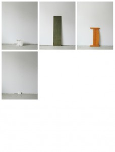 93 in Eins (Alles was in einen Bus passt), 2003, 94 Digitalprints, each 31 x 20 cm, T 11