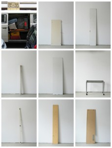 93 in Eins (Alles was in einen Bus passt), 2003, 94 Digitalprints, each 31 x 20 cm, T1