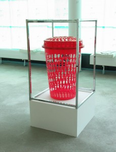 Rotunde, 2006, found objects, 138 x 63 x 63 cm