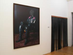 15 Sitting Zick Zack, C-Print, 171 x 130 cm, Exhibiton Casa Rotti, 2006, Gallery Artfinder, Hamburg