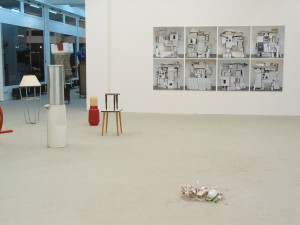Suchen sammeln anwenden, exhibition view, 2003, Galerie KX, Hamburg_3