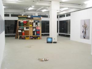 Suchen sammeln anwenden, exhibition view, 2003, Galerie KX, Hamburg_8