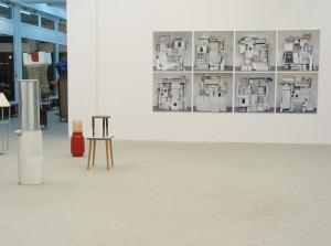 Suchen sammeln anwenden, exhibition view, 2003, Galerie KX, Hamburg_9