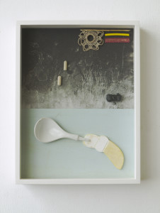 Kamba, 2020, Archival Inkjet Print + Found Objects, 40 x 30 x 5 cm©Brinkmann
