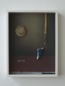 Moofilie, 2020, Archival Inkjet Print + Found Objects, 40 x 30 x 5 cm©Brinkmann