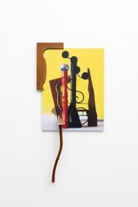 Braquial Rar, 2014, photo Installation, 113 x 55 x 8 cm, Junk de Luxe, Hopstreet Gallery, Brussel, Belgium, 2014