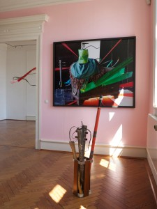 Exhibition-view-Pose-Poshly-Positures-Palais-fuer-aktuelle-Kunst-Kunstverein-Glueckstadt-2014