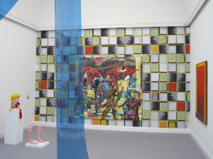 Flaechle-Tapete-2011-Inkjetprint-365-x-580-cm-Extradosis-Kunsthalle-zu-Kiel-2011-