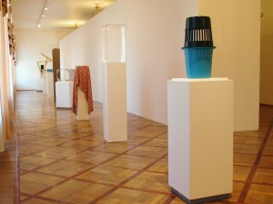 Petersburger Line, 2006, all objects are found in the museum, Museum for Urban Sculpture, St. Petersburg, Russia