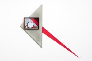 Tritello 2014 C-Print and found objects, 150 x 160 x 7 cmJ Junk de Luxe, Hopstreet Gallery, Bruxelles, Belgium