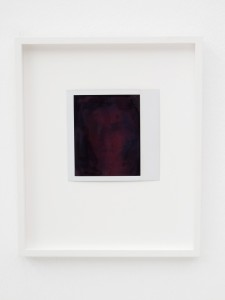 Untitled, 1996, Polaroid,10 x 10,5 cm, Extradosis, Kunsthalle zu Kiel, 2011