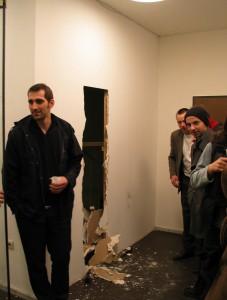 15 Resolutiuon of the gallery reception, Zwischenstand, 2003