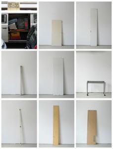 93 in Eins (Alles was in einen Bus passt), 2003, 94 Digitalprints, each 31 x 20 cm, T1