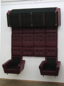 Rio, 2007, Vinyl living-room suite, 320 x 230 x 65 cm