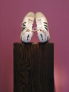 18 Fuesstling, 2010, mixed media 152 x 38 x 42 cm