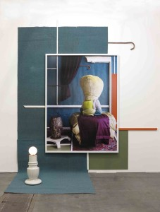 Grand Duc Vasario, 2014, Found Objects and C-Print, approx. 305 x 280 x 95 cm