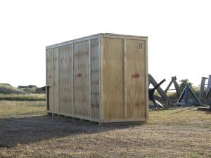 Kista del Sol, 2015, mixed media, 2,40 x 4,30 x 1,50 m, Brinkmann