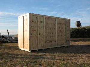 Kista del Sol, 2015, mixed media, 2,40 x 4,30 x 1,50 m, T.Brinkmann