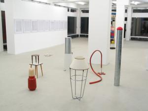 Suchen sammeln anwenden, exhibition view, 2003, Galerie KX, Hamburg_5