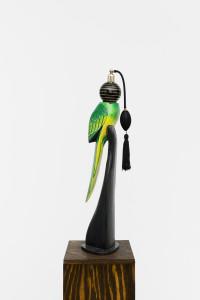 Papagon Jiinu, 2016, found object & flacon with plinth, 160 x 20 x 20 cm, unique_____WEB1