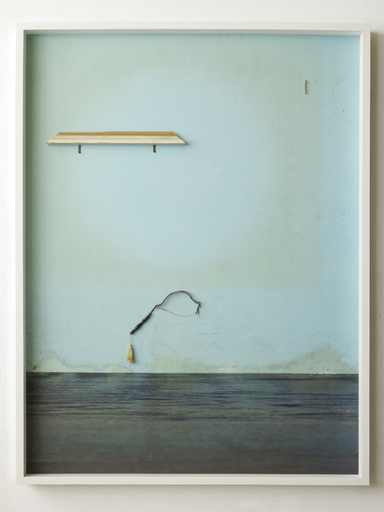 Clypso, 2020, Archival Inkjet Print + Fundstücke, 200 x 150 x 16 cm©Thorsten Brinkmann_Heller