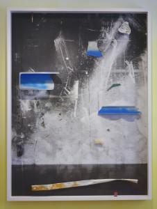 Four Ever, 2020, Archival Pigment Print + Fundstücke, 200 x 150 x 16 cm©Brinkmann