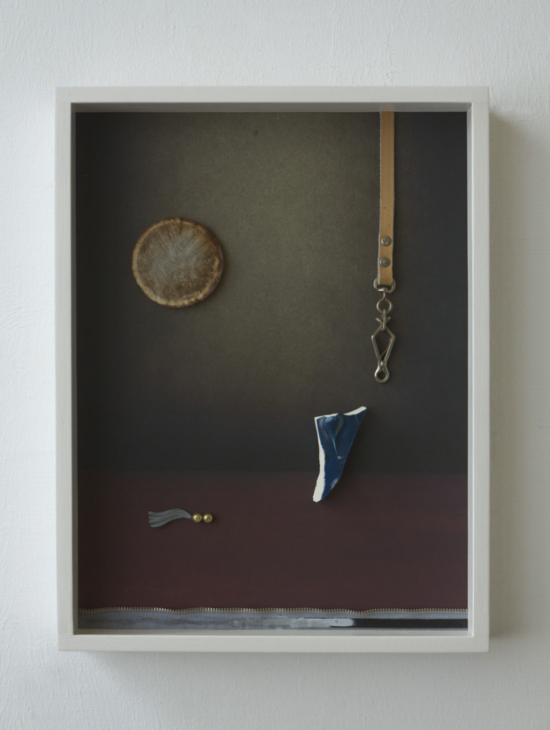 Moofilie, 2020, Archival Inkjet Print + Found Objects, 40 x 30 x 5 cm©Brinkmann