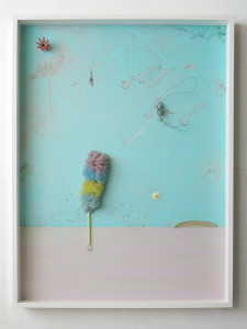 Sunny Side Up, 2020, Archival Inkjet Print + Fundstücke, 200 x 150 x 16 cm©Thorsten Brinkmann