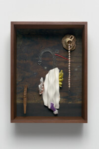 Radühl,2021,archival pigment print + found objects,40 x 30 x 10 cm, unique,©Thorsten Brinkmann