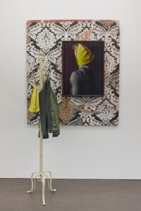 Telmche installation, 2021, C-print, 72 x 54 cm, found objects, unique