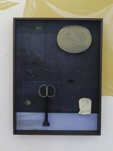 neu Plango, 2021, Archival Pigment Print + found objects, 144 x 109 x 16 cm©Brinkmann